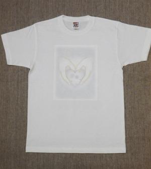 レディースTシャツ・Lサイズ 『White Valentine』