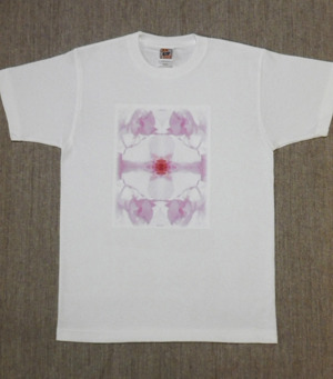 レディースTシャツ・Lサイズ 『Pic 桜』