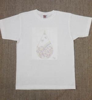 レディースTシャツ・Lサイズ 『Drop Heart』