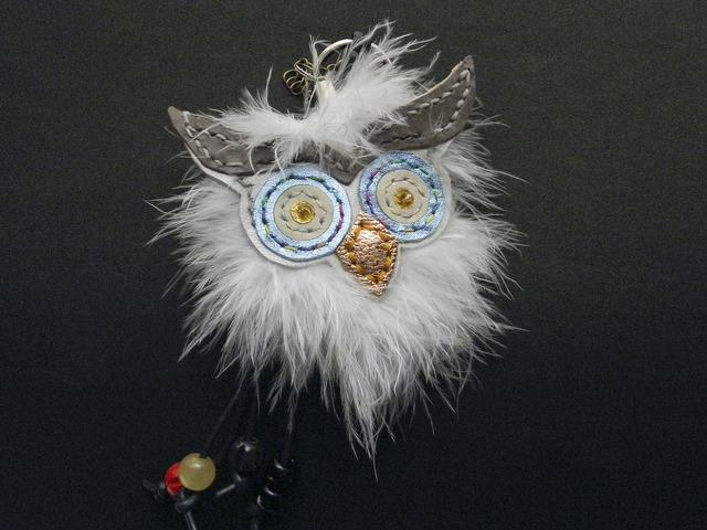 white owl…チャーム