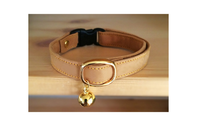 【再販】cat collar *  camel