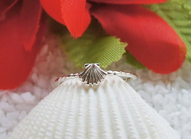 ハワイアンシェルリング(Silver)