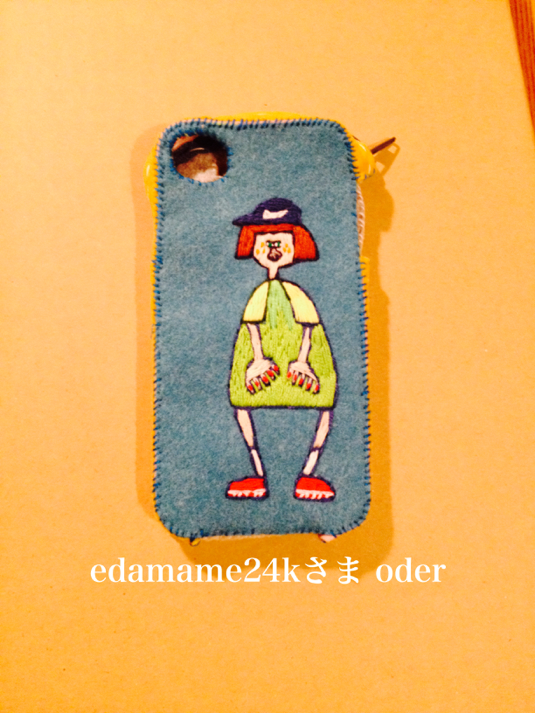 iPhone6携帯カバー(oder)