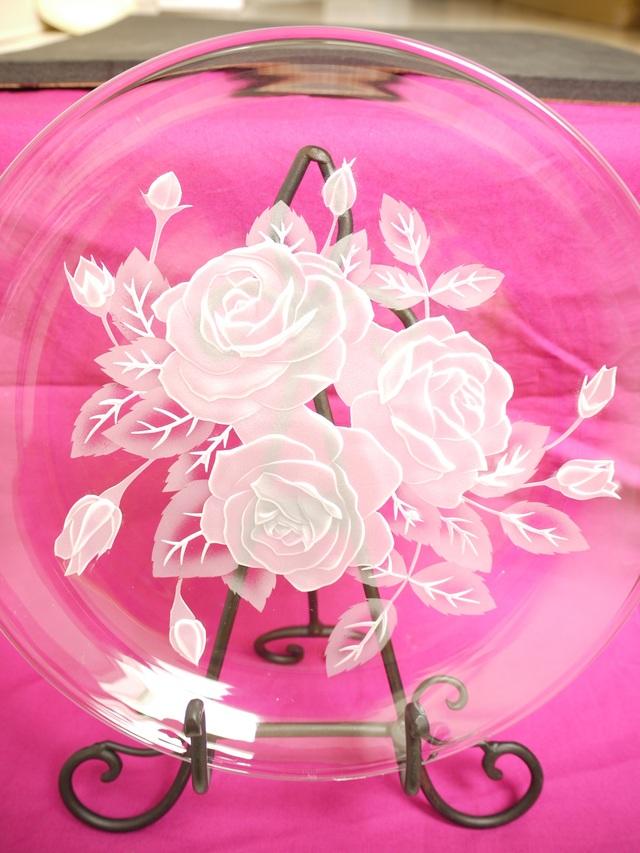 プレート・Rose