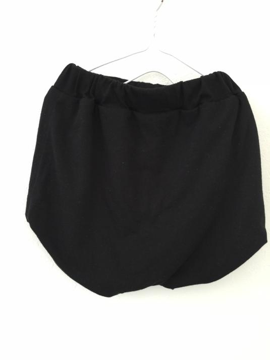 再販ラストサルエルショートパンツ ブラック 100サイズ