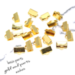 ✨感謝セール✨  gold end parts~20pcs〜