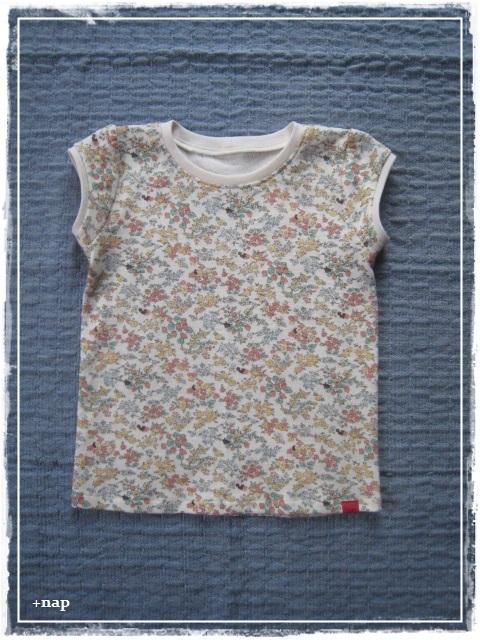 パフスリーブTシャツ(フルーツカシュ)