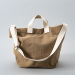 Washed canvas 2way tote  【受注制作】