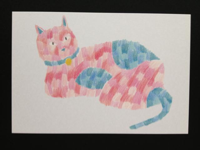 ポストカード「猫」