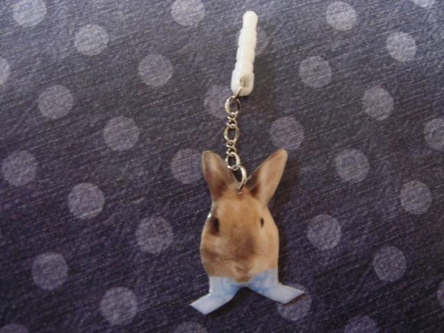 イヤホンジャックアクセサリー★ウサギ