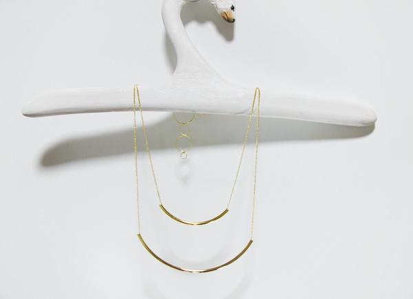 【cさま専用】2連バーのネックレス