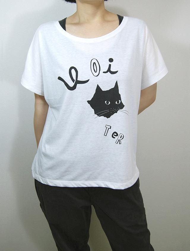 【SALE】HAIKAI CAT(レディースF-白)
