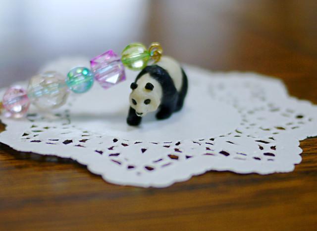 (Sold out)animalイヤホンジャックピアス【Panda】
