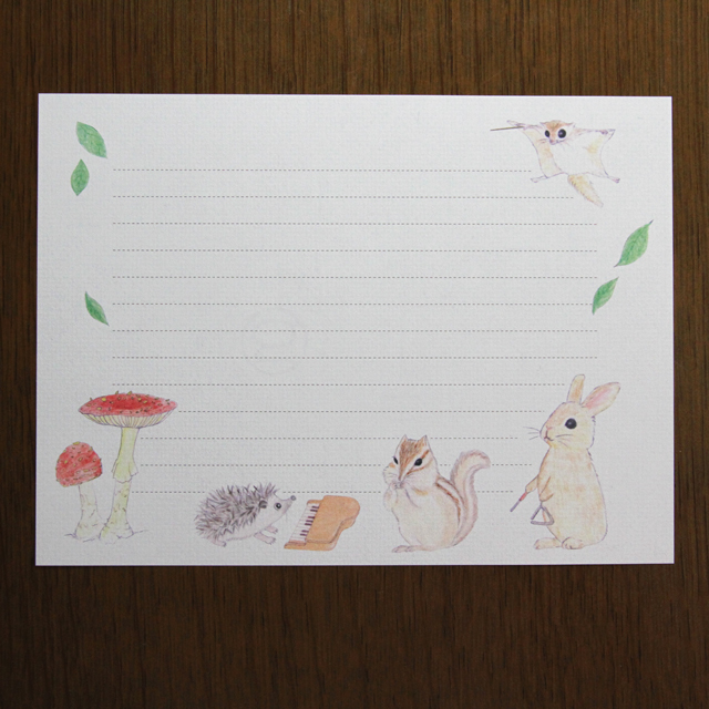 Letter Set Little Animals(レターセット)