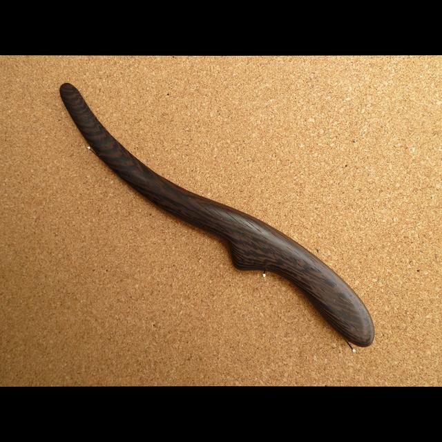 ウェンジのペーパーナイフ Nタイプ