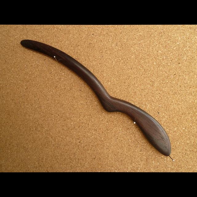 黒檀のペーパーナイフ Bタイプ