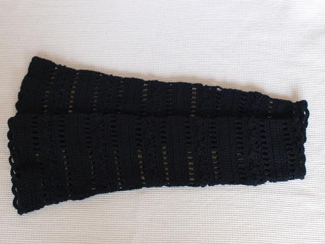 UV対応アームカバー ブラック