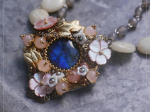 Vintage necklace <Cabo 1806>