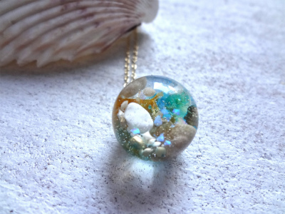 Seascape Necklace q