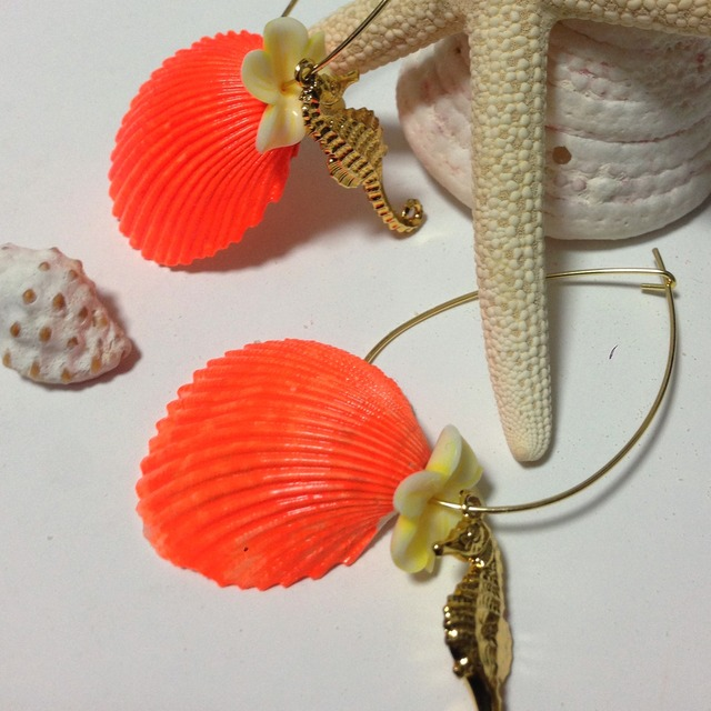 Orange Summer(Shell and Sea Dragon)