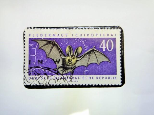 ドイツ 切手ブローチ883