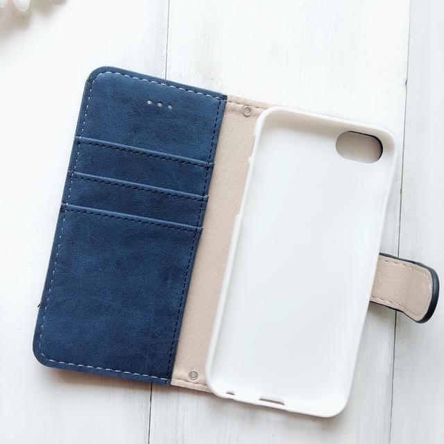 917e009589 スマホケース 通話穴♥iphoneケース iphone8 iphone7PLUS xperia ☆ グランリボン 手帳型