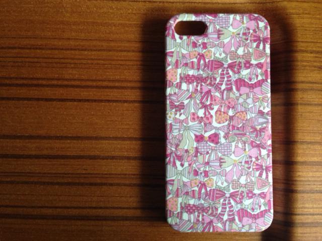 秋色*iphone5/5s*ジェニーズリボンズ*PKxキラ*リバティ