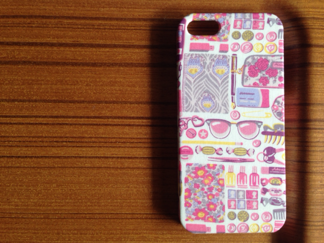 *iphone5/5s/6/6s/5c*Forget me nots*pk*リバティ*ケース