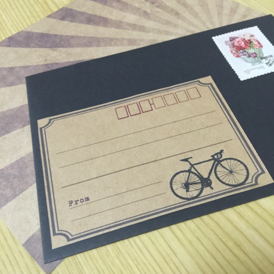 宛名シール【自転車(ロードバイク)】