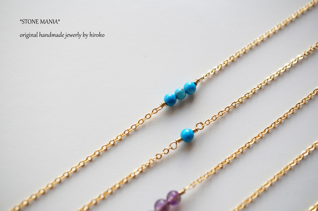 ?Stone long necklace?����������?