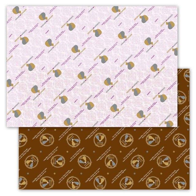 金猫*銀猫 包装紙(6枚セット)