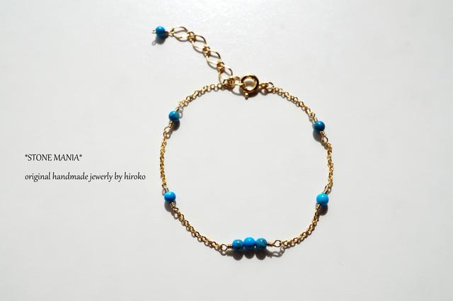 ?Stone bracelet?ターコイズ?