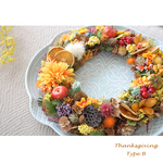 <Order>Thanksgiving Wreath B 40