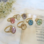 【MERY掲載】SWAROVSKI Colorful Bijou Ring (SALE!!)