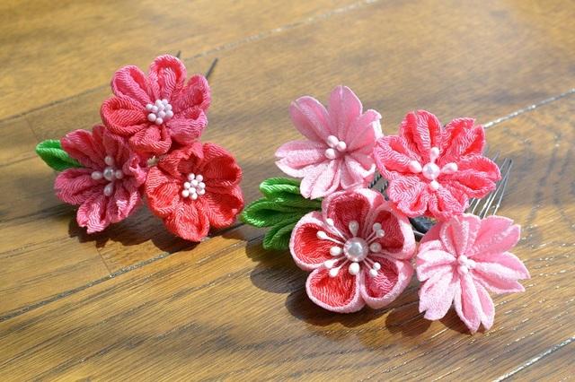tumami*桜 髪飾り