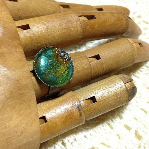 緑銀河の指環