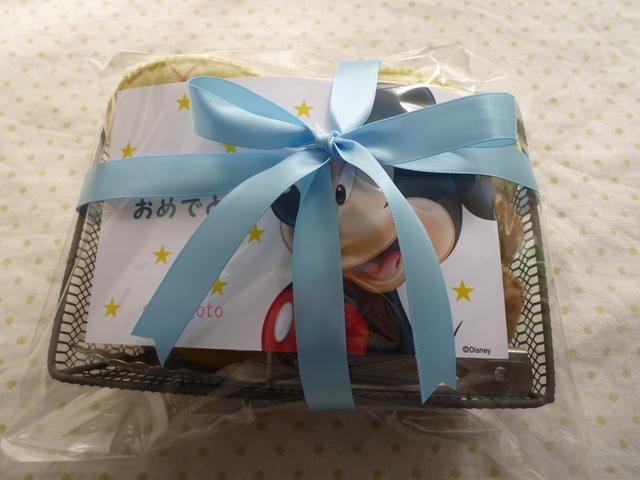 <再販>プレゼント用★パン屋さん☆角籠☆トング付き