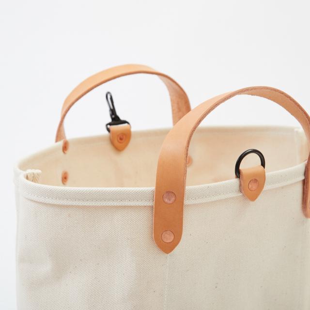 8d368e035e07 【送料無料】 倉敷帆布 トートバッグ キャンバス キャメル S | レディース メンズ レザー キャンバス