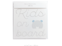 Kids on board ステッカー
