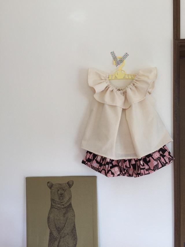 *kawara-rad様オーダー品*フリルチュニックとバルーンスカート*