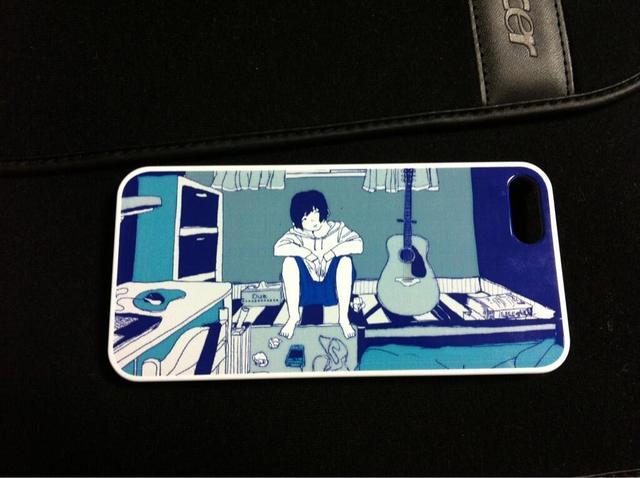 m-青色 iPhoneケース 5