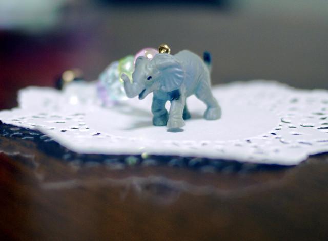(Sold out)animalイヤホンジャックピアス【Elephant】