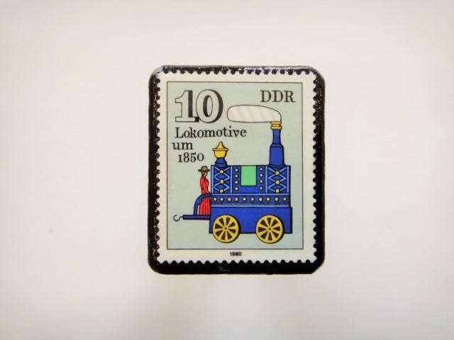 ドイツ おもちゃ切手ブローチ895