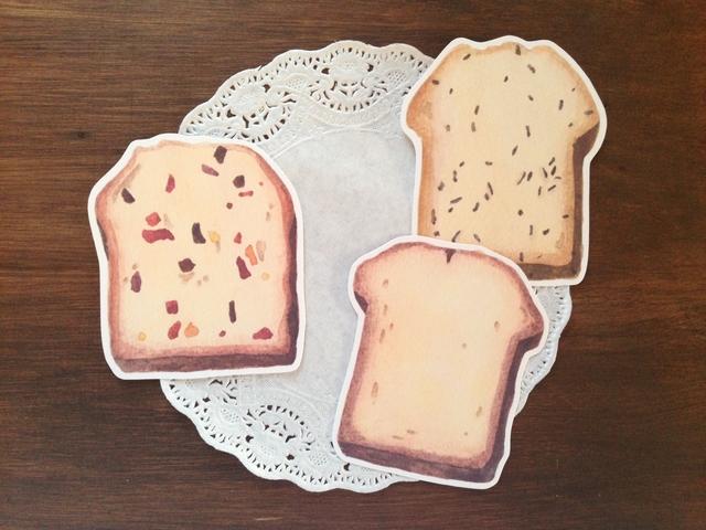 パウンドケーキのカード