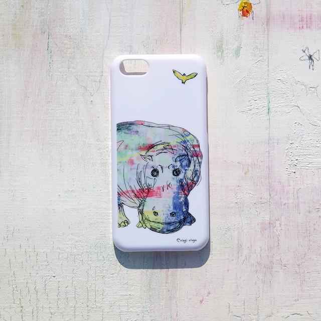 やさしいカバ iPhone case(5c)