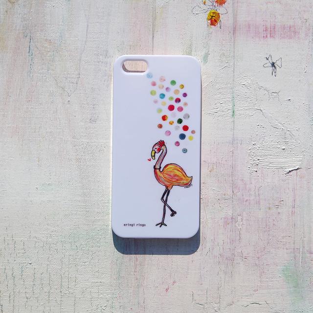 やっぱりおしゃれなフラミンゴ iPhone case(5/5S)