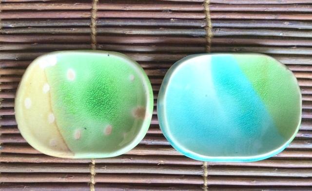 小皿2枚セットガラス