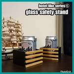 🔳glass safety stand【hotel-like series⑥】