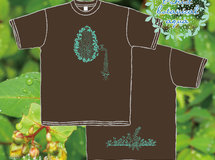 T-shirt / botanical Aqua