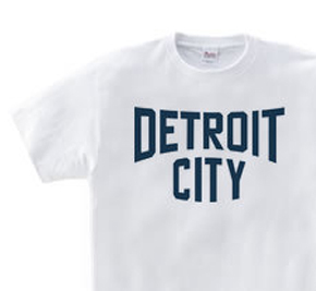 デトロイト CITY WS〜WM?S〜XL Tシャツ【受注生産品】